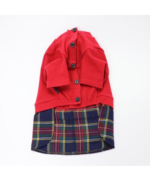PET PARADISE J.PRESS マフラー コーデ スカートつなぎ 〔超・小型犬〕