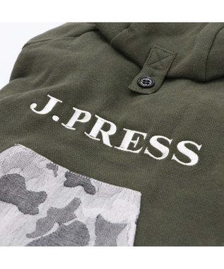 PET PARADISE J.PRESS 迷彩 ポケット パーカー 〔超小型・小型犬〕 カーキ
