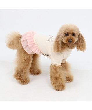 PET PARADISE ペットパラダイス リボン ペティヒート ワンピース 桃〔小型犬〕 ピンク