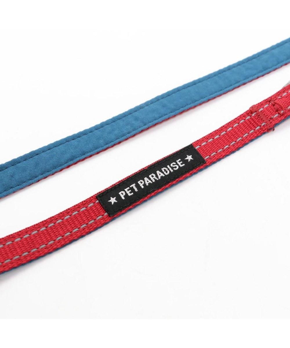 PET PARADISE ペットパラダイス シンプル リード 赤 ペットSS~S〔小型犬〕 赤