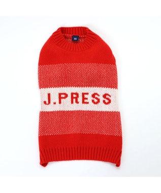 PET PARADISE J.PRESS メランジ ニット 〔超小型・小型犬〕 赤