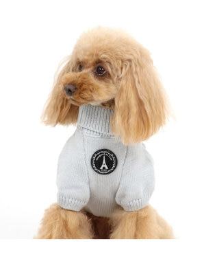 PET PARADISE リサとガスパール アランニット 〔超小型・小型犬〕 グレー