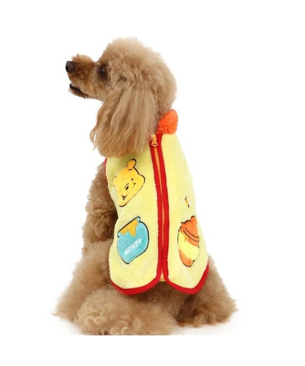 PET PARADISE ディズニーくまのプーさん 背開き ボアベスト 〔超小型・小型犬〕