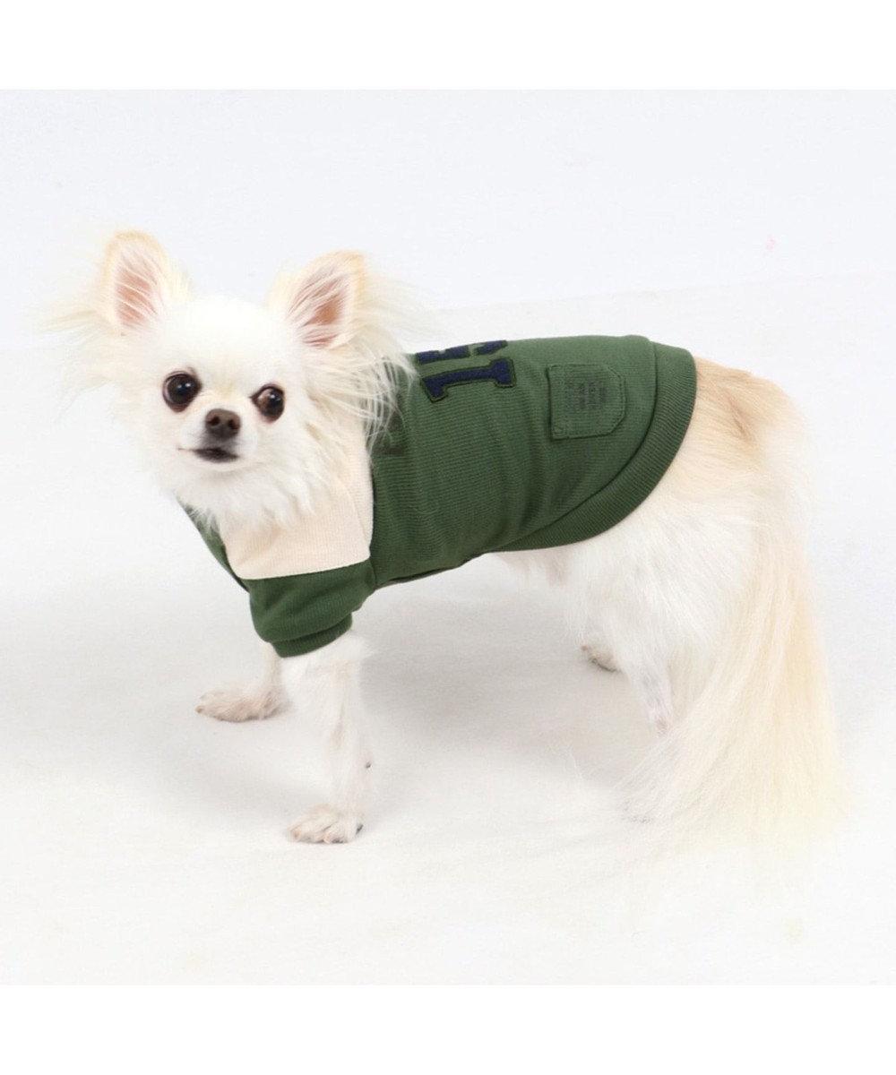 PET PARADISE ペットパラダイス 切替 ペティヒートTシャツ 緑 〔超・小型犬〕 緑