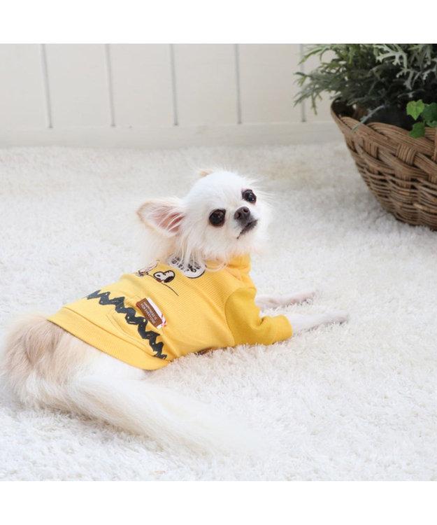 PET PARADISE スヌーピー ハイネック  ペティヒート Tシャツ 〔超・小型犬〕