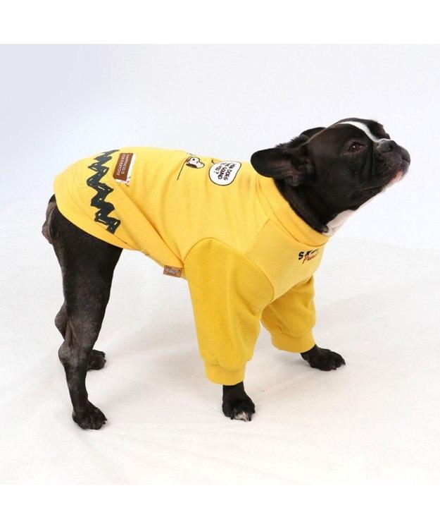 PET PARADISE スヌーピー ハイネック  ペティヒート Tシャツ 〔中型犬〕