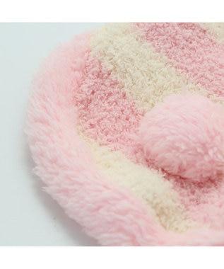 PET PARADISE ペットパラダイス もこふわ うさぎパーカー 〔超小型・小型犬〕 ピンク(淡)