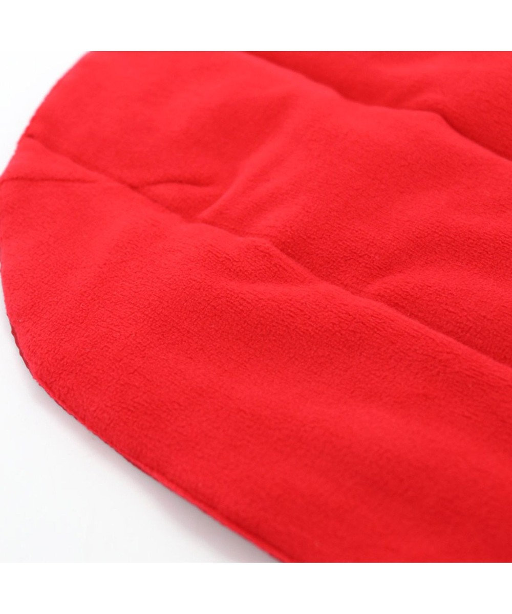 PET PARADISE J.PRESS 配色 綿入ベスト 赤〔超小型・小型犬〕 赤