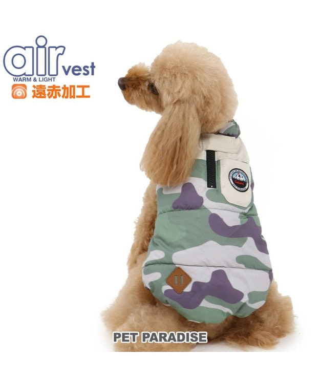 PET PARADISE ペットパラダイス エアベスト 迷彩〔超小型・小型犬〕