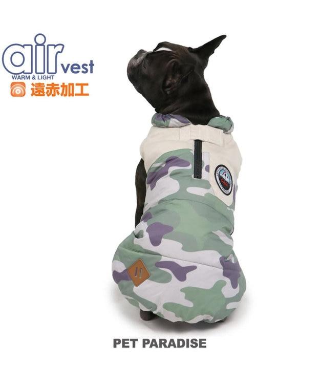 PET PARADISE ペットパラダイス エアベスト 迷彩〔中・大型犬〕
