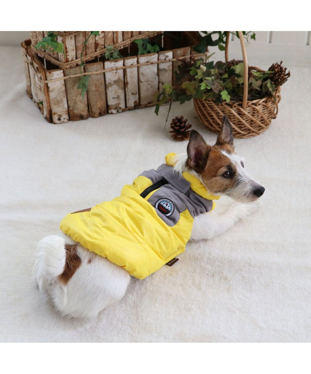 PET PARADISE ペットパラダイス エアベスト 黄〔超小型・小型犬〕