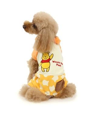 PET PARADISE ディズニー くまのプーさんダブルフェイスロンパース〔超・小型犬〕 黄