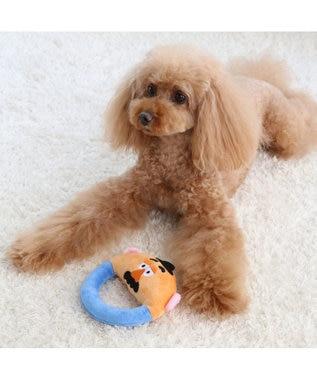 PET PARADISE ディズニー トイ・ストーリー 円形 おもちゃ トイ 黄緑