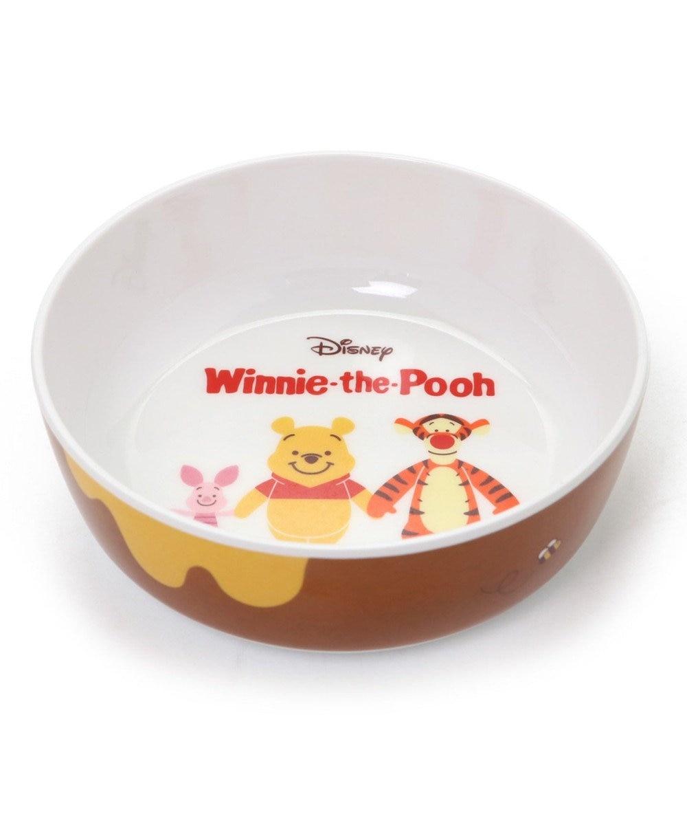 PET PARADISE ディズニー くまのプーさん フードボウル 犬 フードスタンド メラミン えさ皿 犬 食器 茶系