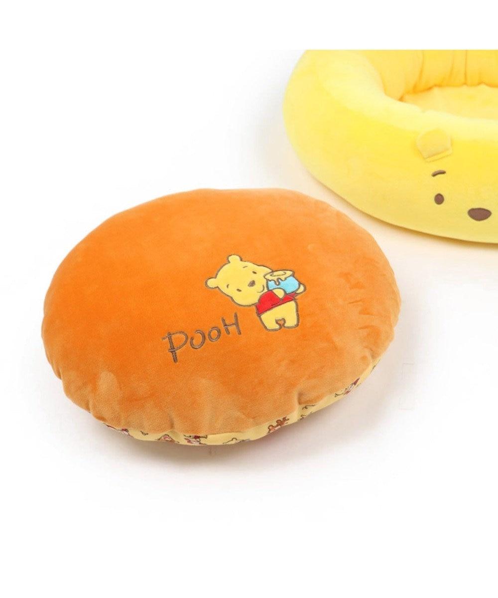 PET PARADISE ディズニー くまのプーさん ポップ総柄 カドラー(55cm) オレンジ