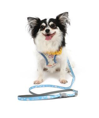 PET PARADISE トイ・ストーリー 総柄 ハーネスリード ペット4S〔小型犬〕 青