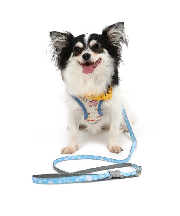 PET PARADISE トイ・ストーリー 総柄 ハーネスリード ペット4S〔小型犬〕