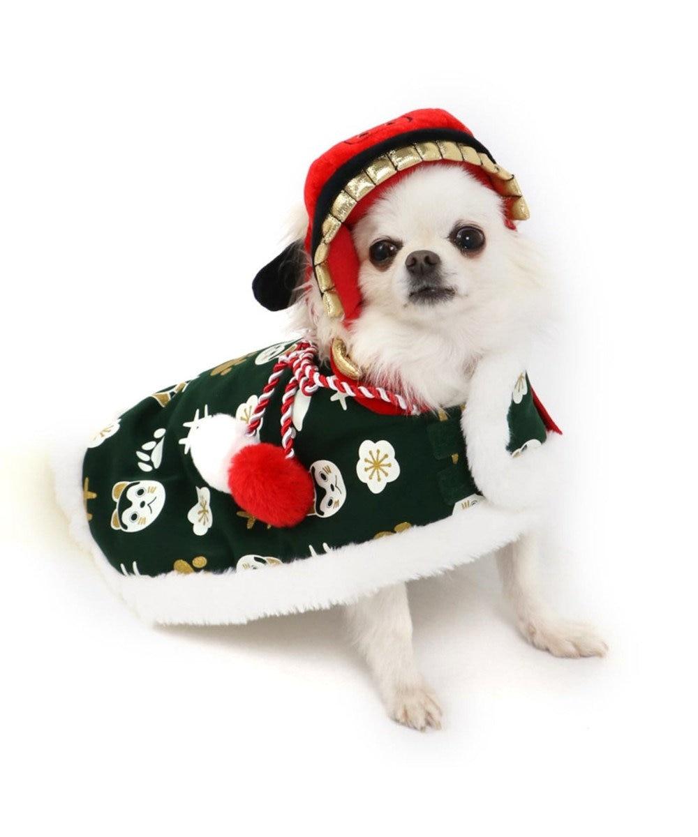 PET PARADISE ペットパラダイス 獅子舞 コート 緑 〔超小型・小型犬〕 緑
