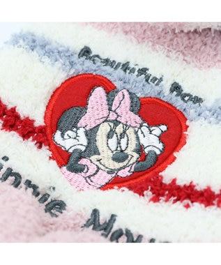PET PARADISE ディズニーミニーマウス ボーダー パーカー 〔超小型・小型犬〕 ピンク(淡)