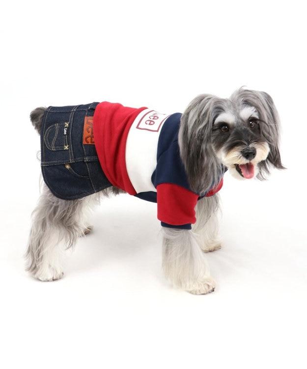 PET PARADISE Lee トリコロール スカートつなぎ 〔超小型・小型犬〕