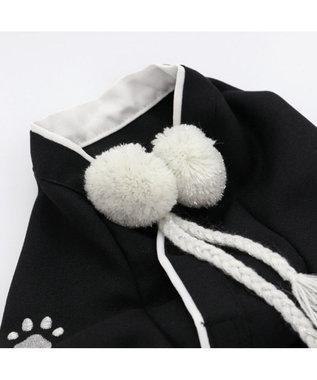PET PARADISE ペットパラダイス 紋付袴 〔中・大型犬〕 黒