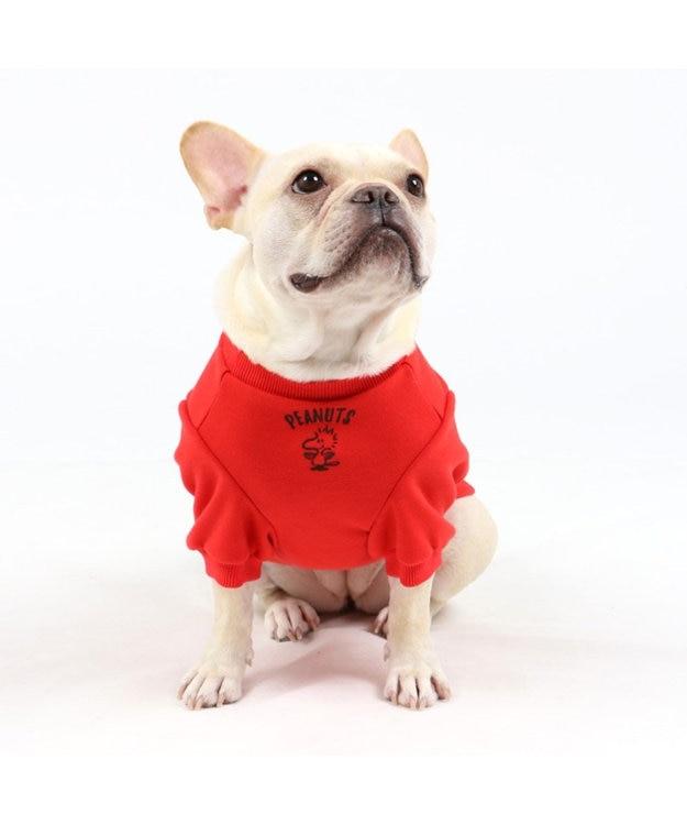 PET PARADISE スヌーピー フレンズ トレーナー 赤 〔中・大型犬〕