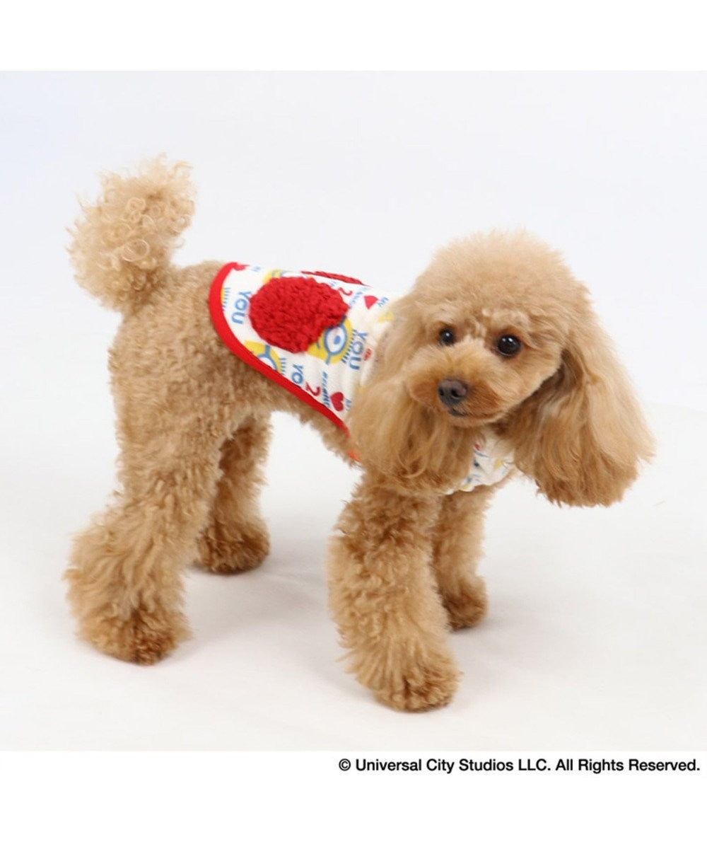 PET PARADISE ミニオン ワンダフルストレッチ フリル トレーナー 〔小型犬〕 黄