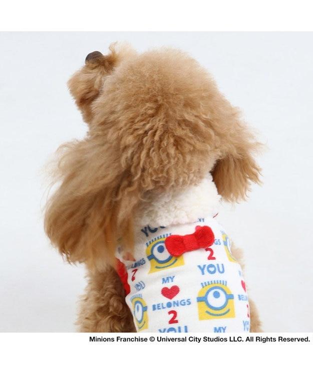 PET PARADISE ミニオン ワンダフルストレッチ フリル トレーナー 〔小型犬〕