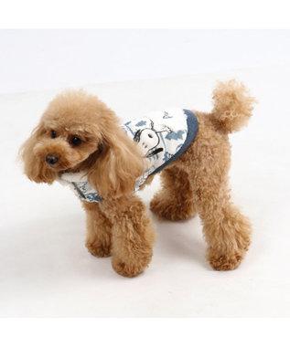 PET PARADISE スヌーピー ワンダフルストレッチフロスティングトレーナー〔小型犬 水色