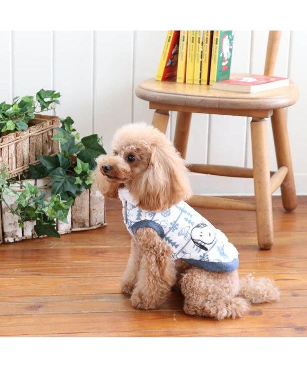 PET PARADISE スヌーピー ワンダフルストレッチフロスティングトレーナー〔小型犬