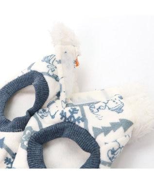 PET PARADISE スヌーピー ワンダフルストレッチフロスティングトレーナー〔中型犬 水色