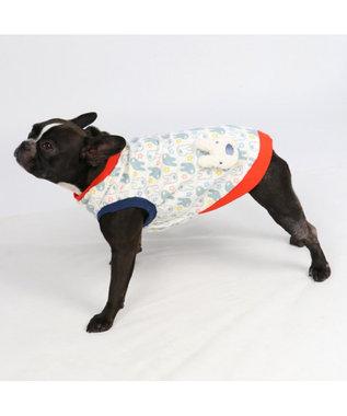 PET PARADISE リサとガスパール  ワンダフルストレッチフリルトレーナー〔中型犬 白~オフホワイト