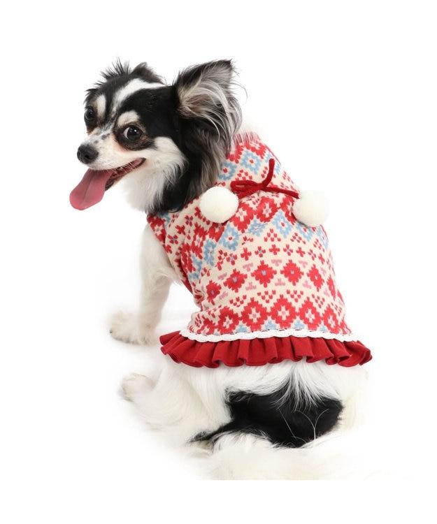 PET PARADISE ペットパラダイス ワンダフルストレッチフリルトレーナー〔小型犬〕