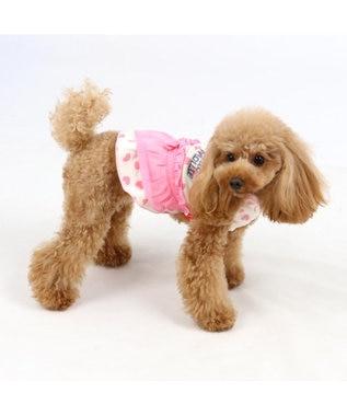 PET PARADISE ミニーマウス  ワンダフルストレッチ フリル トレーナー〔小型犬 ピンク(淡)