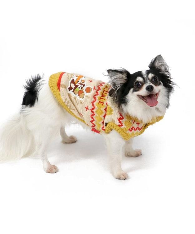 PET PARADISE ディズニー チップとデール 森柄 カウチン 〔超小型・小型犬〕