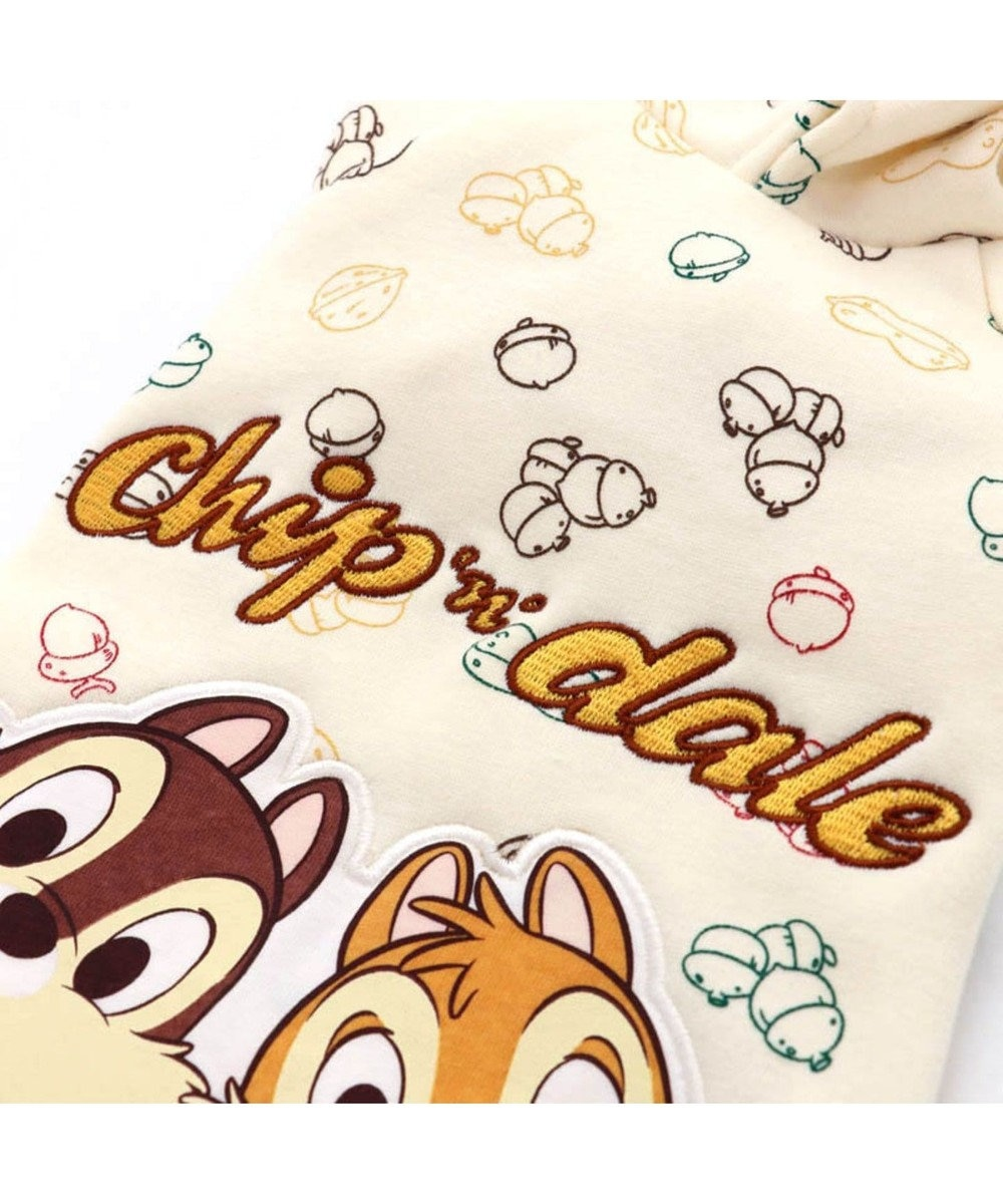 PET PARADISE ディズニー チップとデール もぐもぐ柄 パーカー 〔超・小型犬〕 0