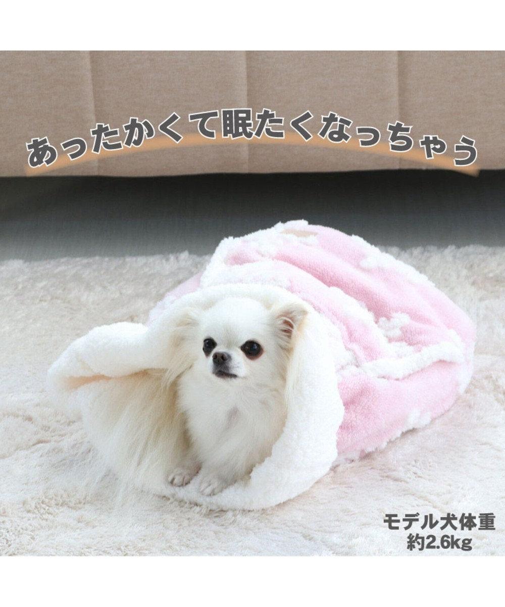 PET PARADISE ペットパラダイス 遠赤外線 雪柄 犬たんぽ (32×38cm) ピンク(淡)