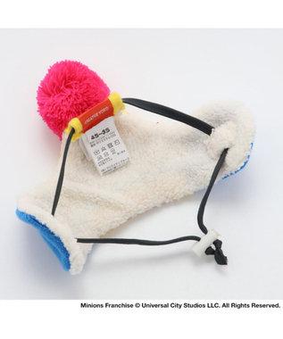 PET PARADISE ミニオン  ニット帽子ボブ SS~S〔小型犬〕 青