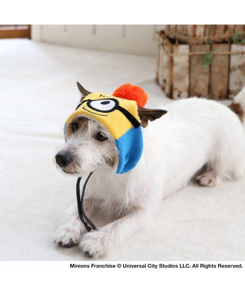 PET PARADISE ミニオン  ニット帽子カール SS~S〔小型犬〕 黄