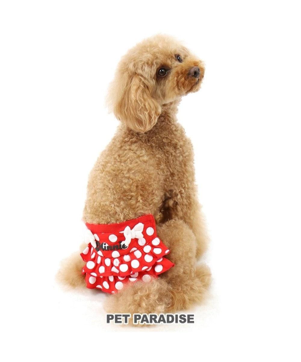 PET PARADISE ディズニー ミニーマウス サニタリーパンツ ドット柄 ペット3S 赤