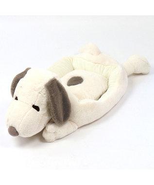 PET PARADISE スヌーピー ペットカドラーベッド ライドオンカドラー 白~オフホワイト