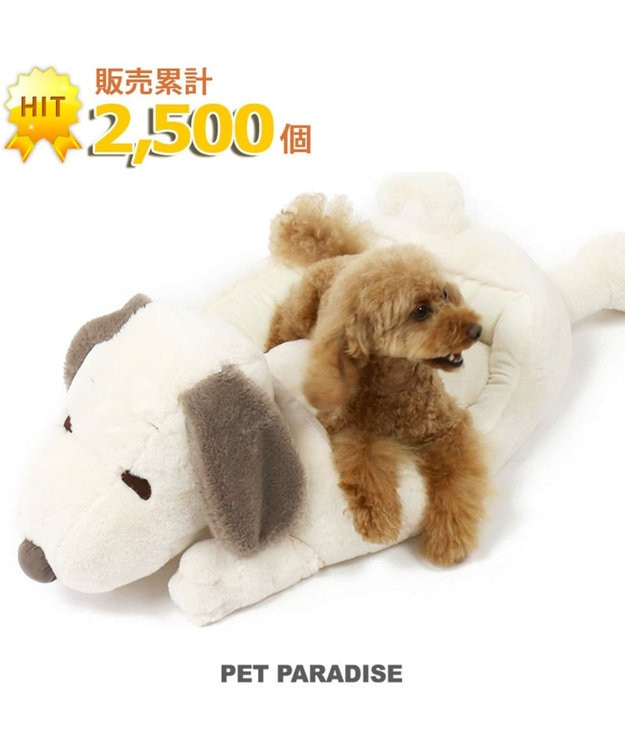 PET PARADISE スヌーピー ペットカドラーベッド ライドオンカドラー