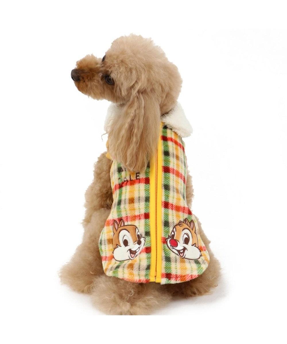 PET PARADISE ディズニー チップとデール チェック ベスト 〔超小型・小型犬〕 黄