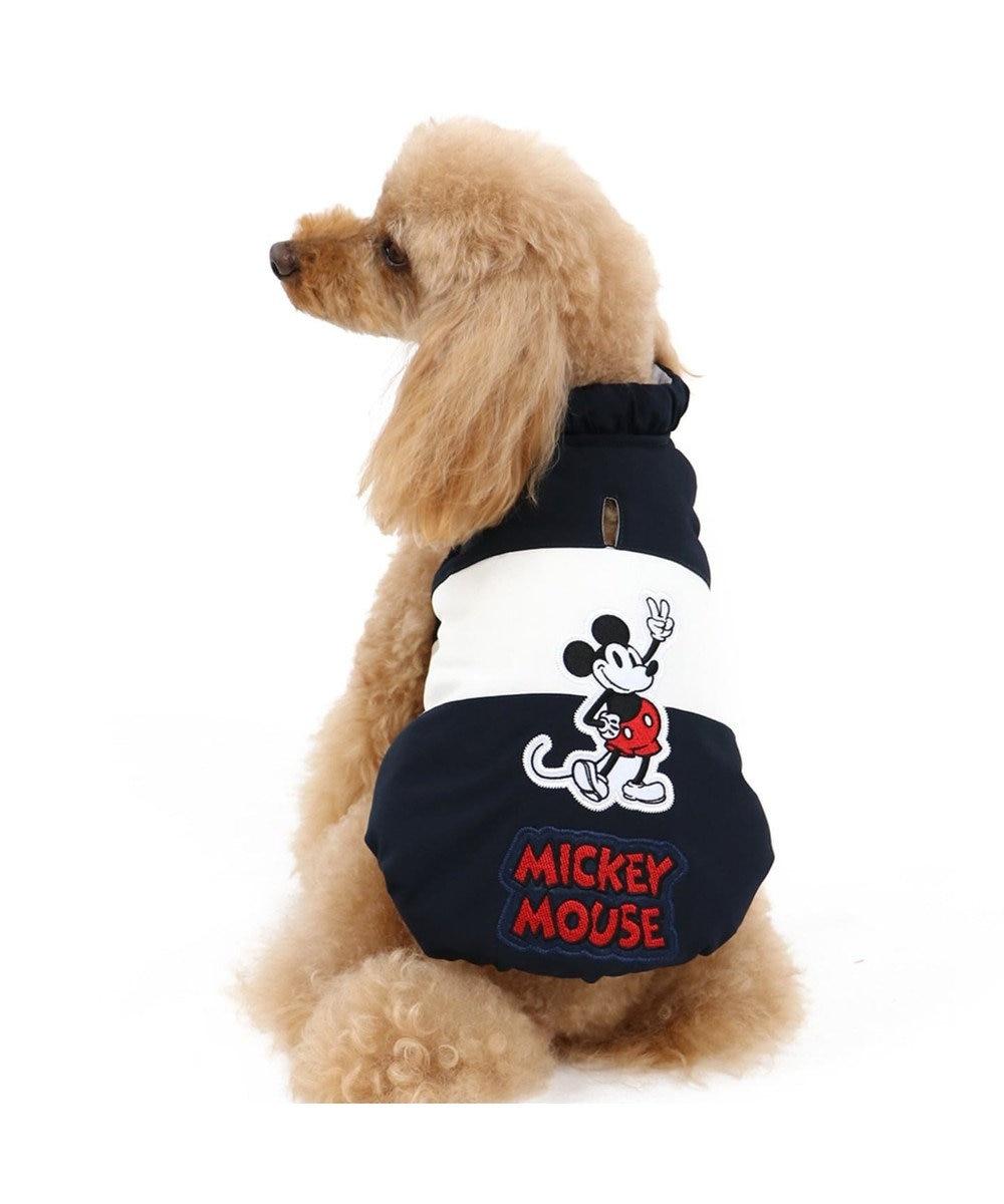 PET PARADISE ディズニー ミッキーマウス ピース エアベスト〔超小型・小型犬〕 紺(ネイビー・インディゴ)