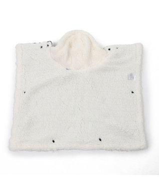 PET PARADISE ペットパラダイス 編み柄 着る毛布 〔超小型・小型犬〕 紺(ネイビー・インディゴ)
