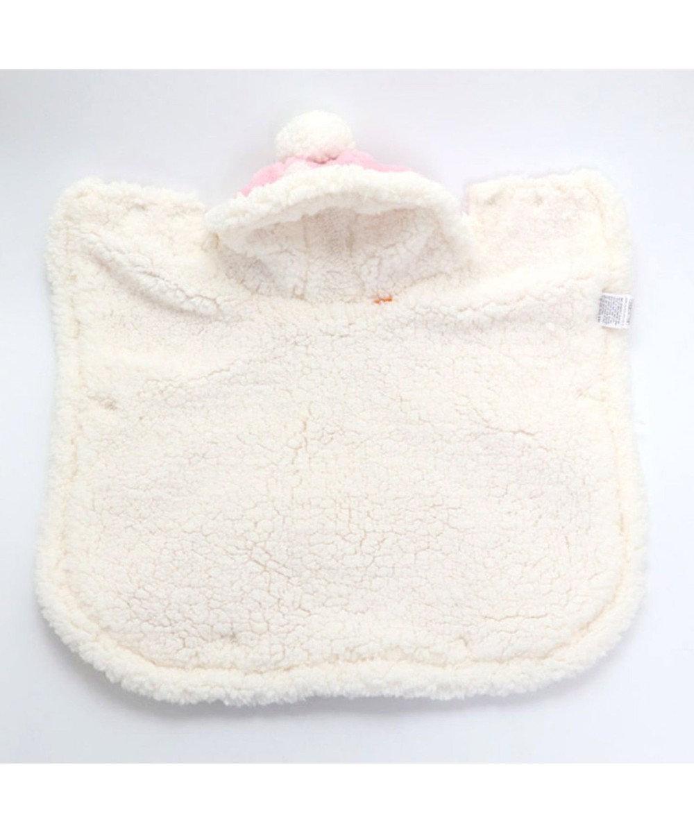 PET PARADISE ペットパラダイス 雪柄 着る毛布 〔中型犬〕 ピンク(淡)