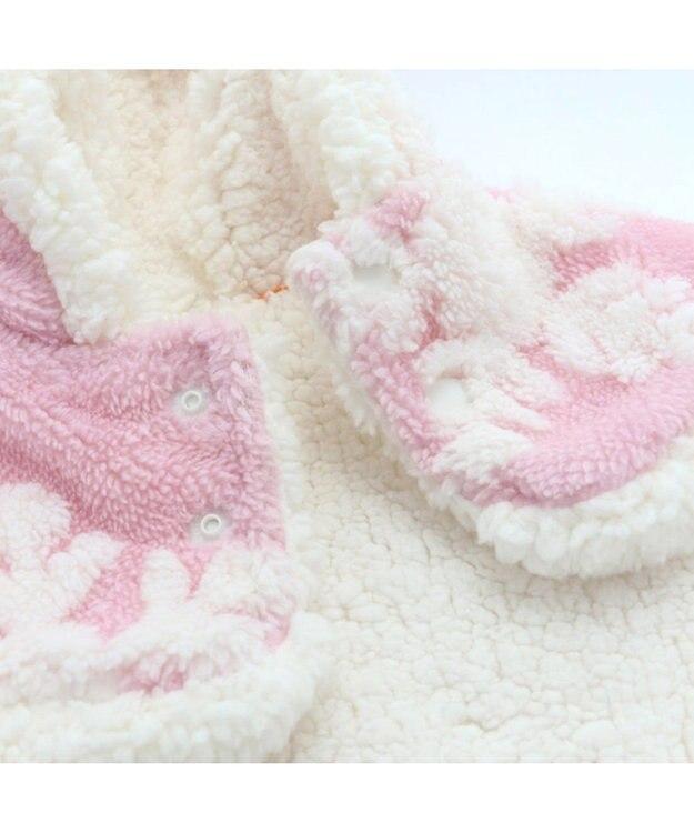 PET PARADISE ペットパラダイス 雪柄 着る毛布 〔中型犬〕