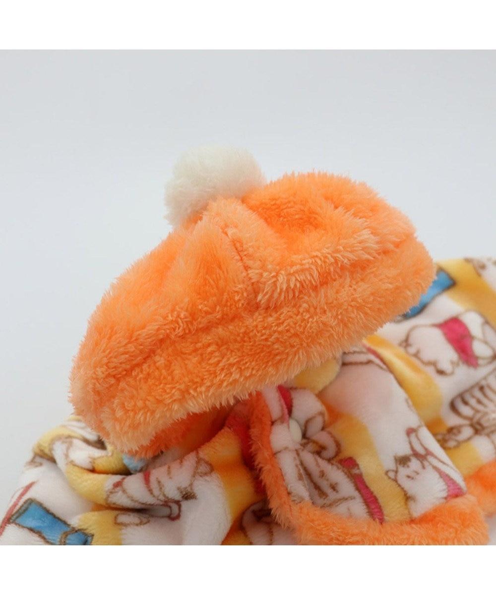PET PARADISE ディズニー くまのプーさん ブック柄 着る毛布〔超小型・小型犬〕 オレンジ