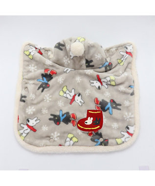 PET PARADISE リサとガスパール 長ぐつ柄 着る毛布 〔超小型・小型犬〕 グレー