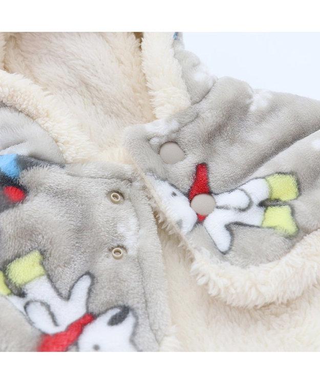 PET PARADISE リサとガスパール 長ぐつ柄 着る毛布 〔超小型・小型犬〕
